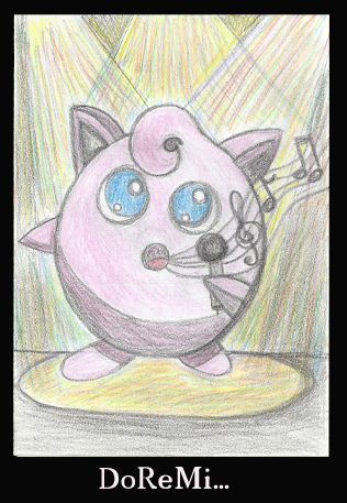 Jigglepuff singing by CapriceVaudeville
