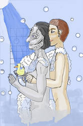 Under the shower with you by CapriceVaudeville