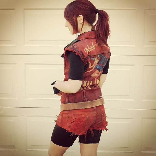 Claire Redfield test by x-Marionette-x