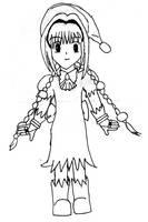Chibi Dorothy by kco-komiko