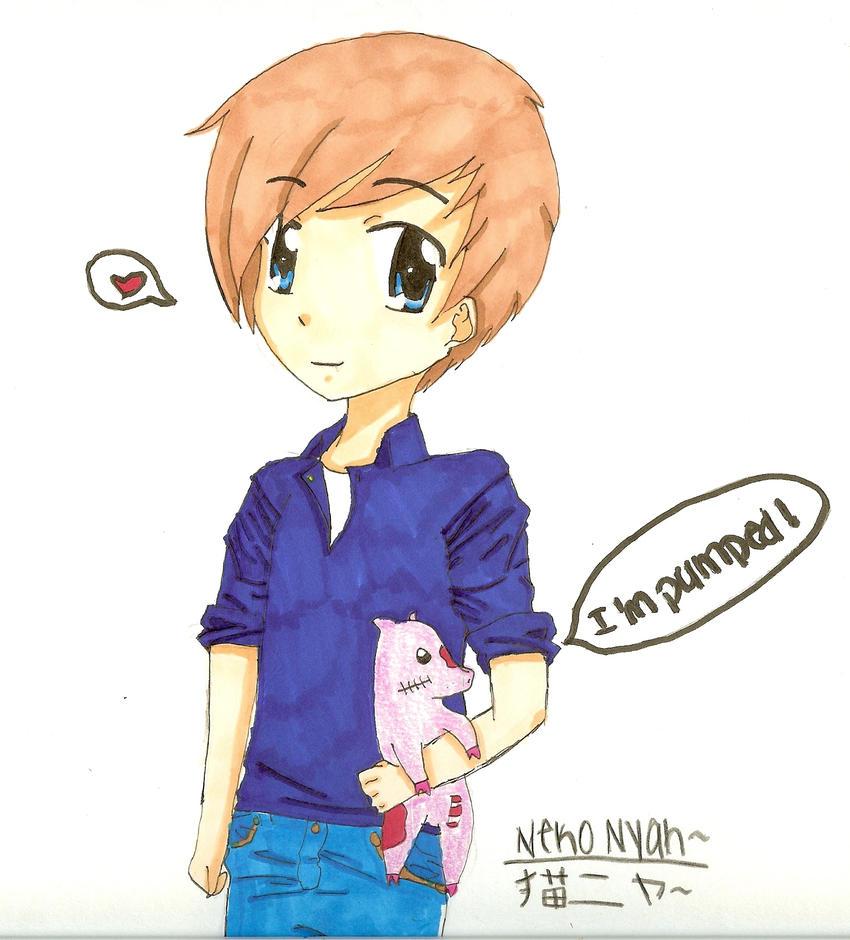 PewDiePie and Piggeh by NekoNyah-sensei on DeviantArt