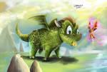 baby dragon by jorcerca