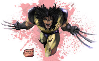 Wolverine Attack by jorcerca