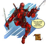 SPIDER DEAD-POOL