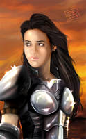 Warrior Friend by jorcerca