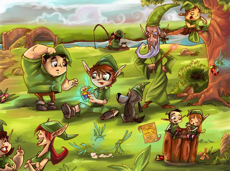 World of Elves by jorcerca