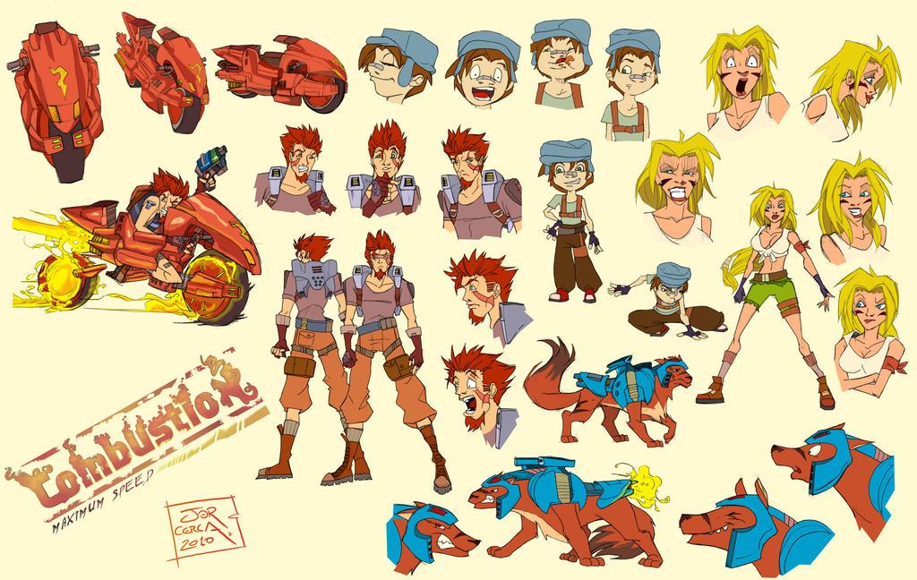 Character Concept Art by jorcerca