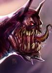 Monster batman 2 - SpeedPaint