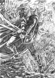 Thor (Marvel) by jorcerca