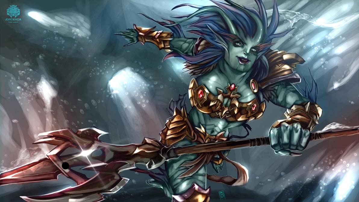 Splash Art (style Blizzard) by jorcerca