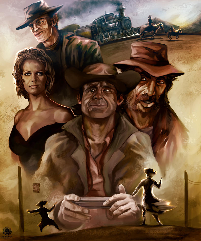 Once Upon A Time In The West: Once Upon A Time In The West By Jorcerca On DeviantArt