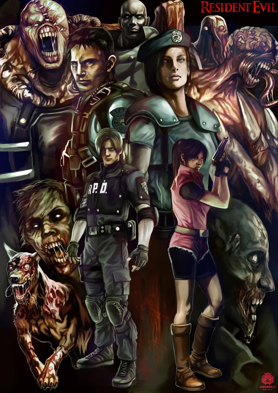 Resident Evil by jorcerca on DeviantArt