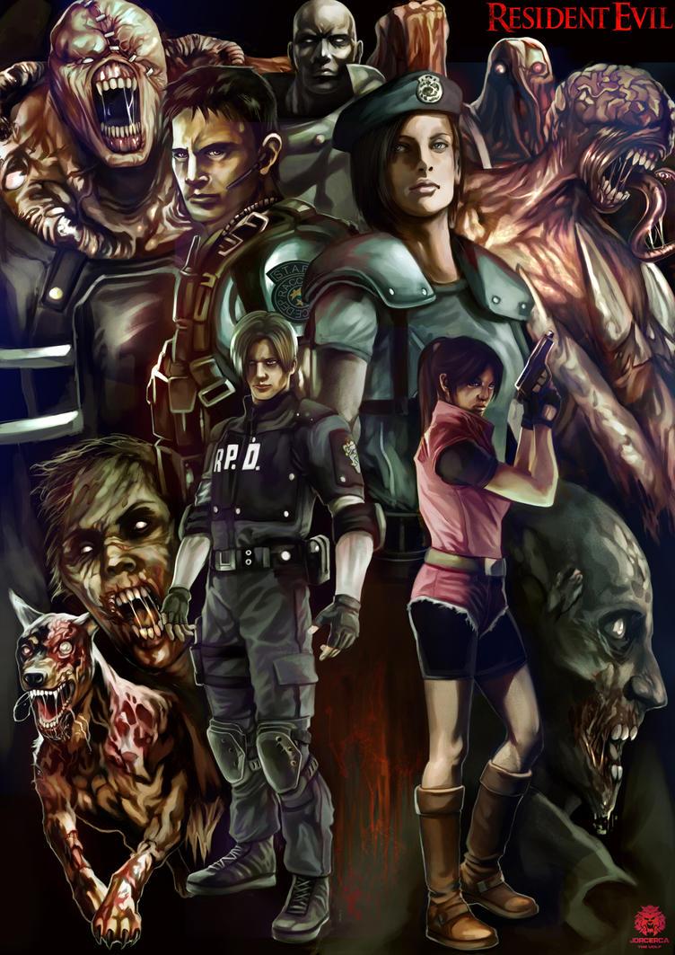 Resident Evil by jorcerca