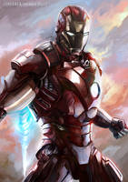 Iron Man by jorcerca