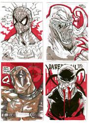 Sketch Cards Marvel