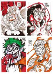 Sketch Cards DC