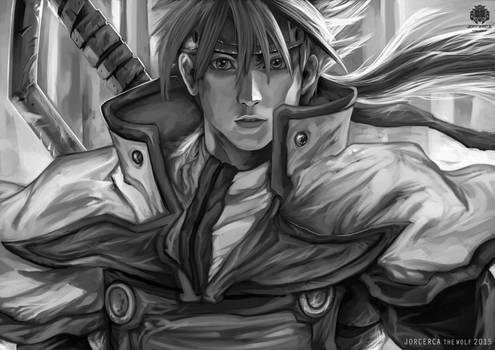 Holy Order Sol Grayscale