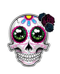 Muerto Sticker