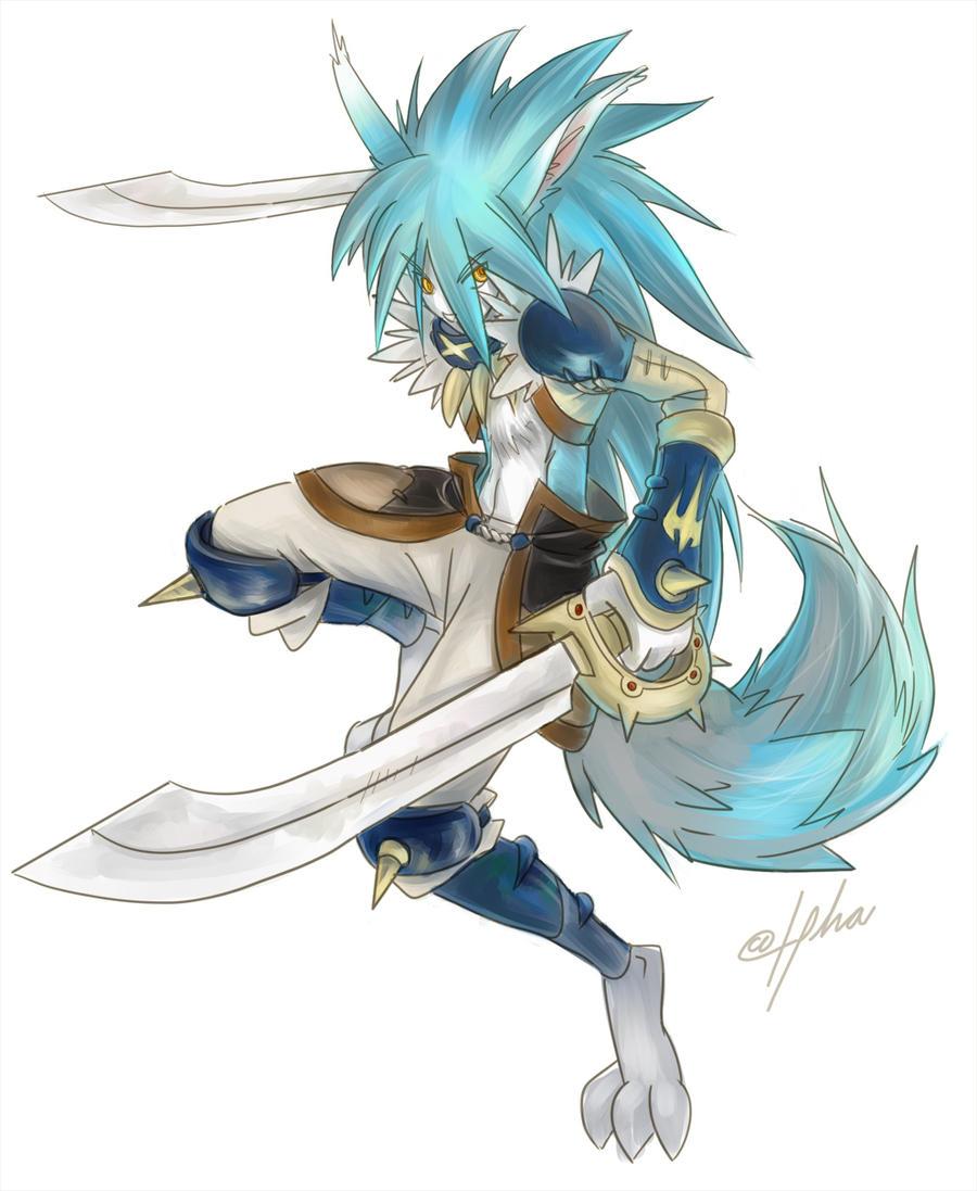12 tails--wolf warrior...