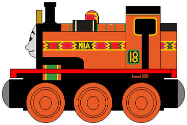 Wooden Railways: Nia by NickBurbank579