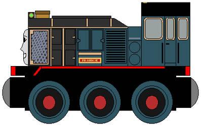 Wooden Railways: Frankie by NickBurbank579