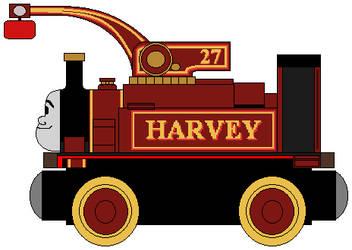 Wooden Railways: Harvey by NickBurbank579