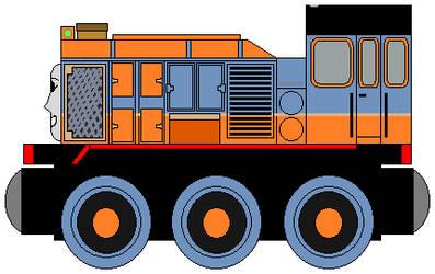 Wooden Railways: The Arizona Diesel by NickBurbank579