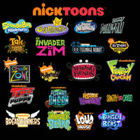 My Favorite Nicktoons Tribute. by NickBurbank579
