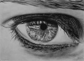 Lost in The Eye Drawing