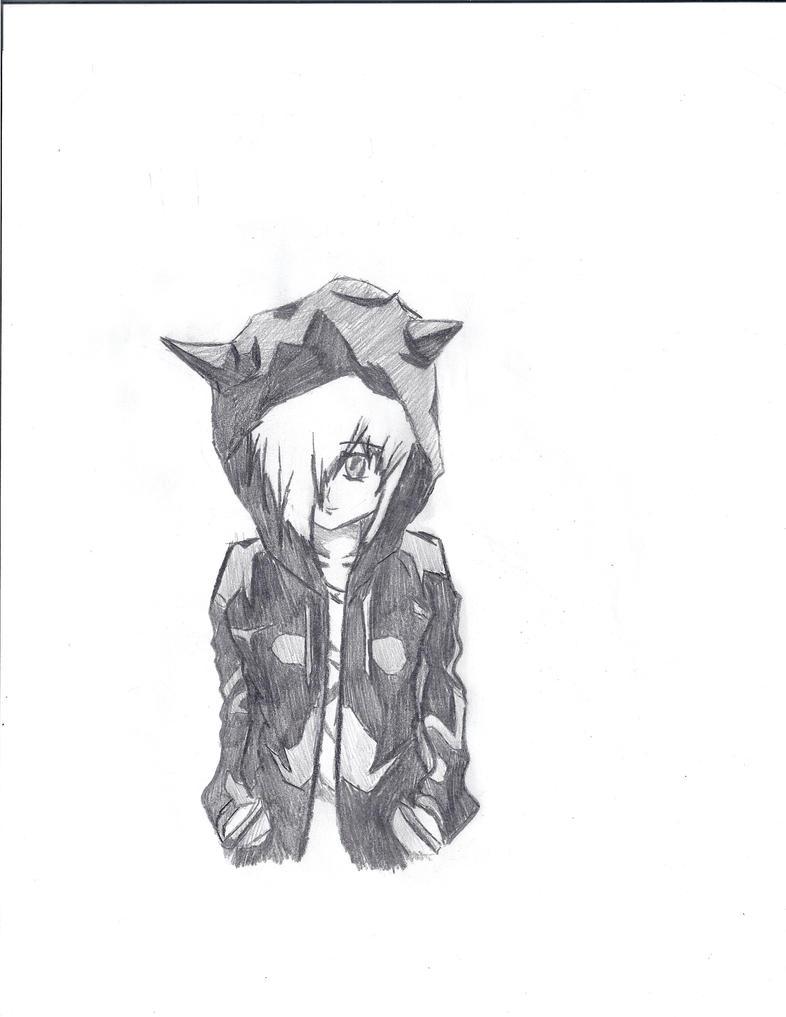 Anime Hoodie Designs Anime Girl With Hoodie