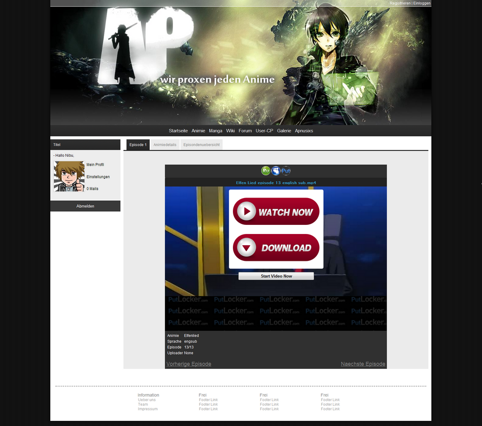 ProxerMe Redesign ^^ by NibuTv