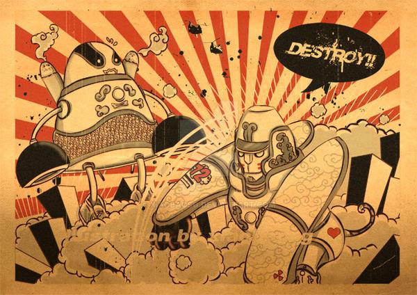 Destroy II by xiaobaosg