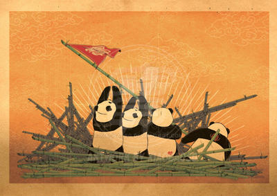 Panda Revolution III by xiaobaosg