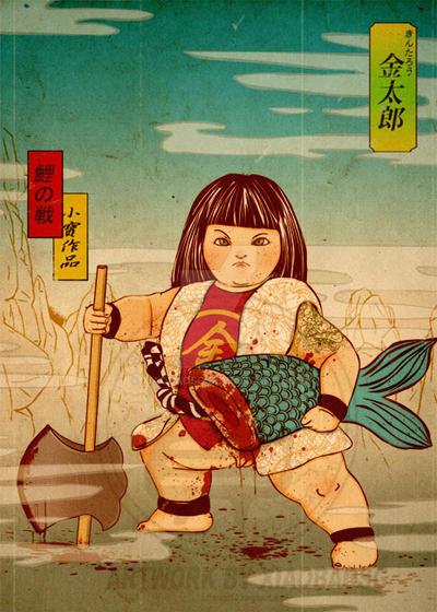 Kintaro by xiaobaosg