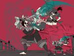 Guitar fight at Gojo bridge