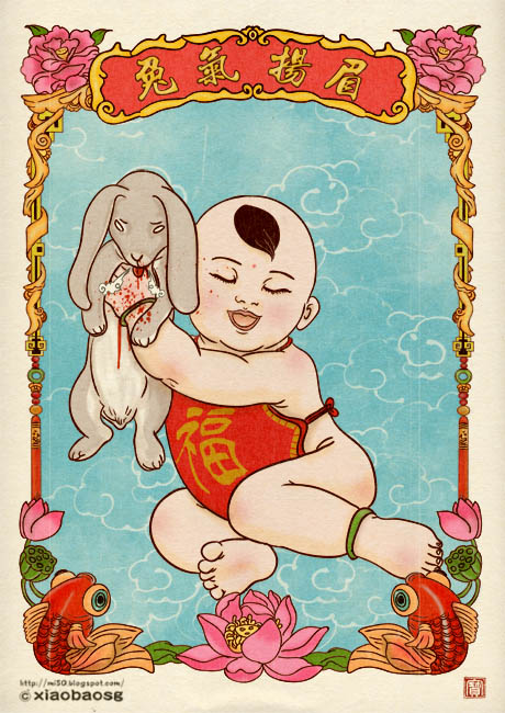 Year of Rabbit by xiaobaosg
