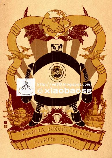 Panda Revolution 2046 by xiaobaosg