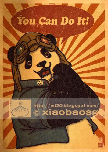 Panda Revolution XI by xiaobaosg