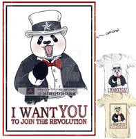 I want you to join the Revolution