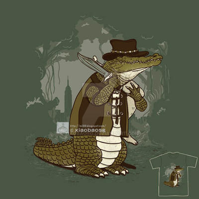 Crocodile Hunter by xiaobaosg