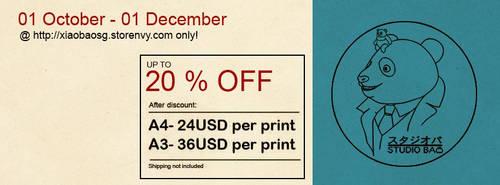 Prints Sale!