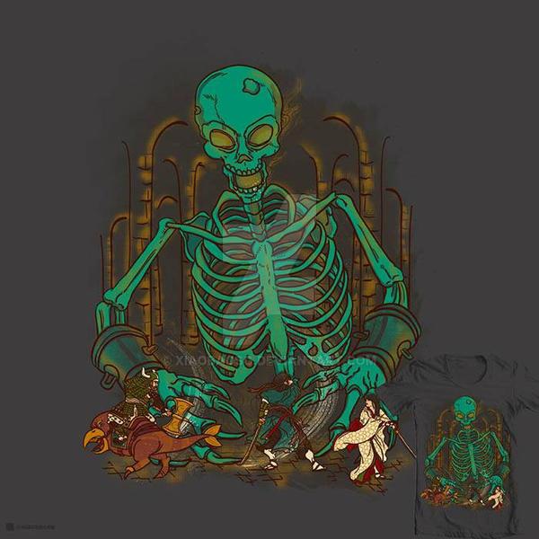 Death's Choice tee by xiaobaosg