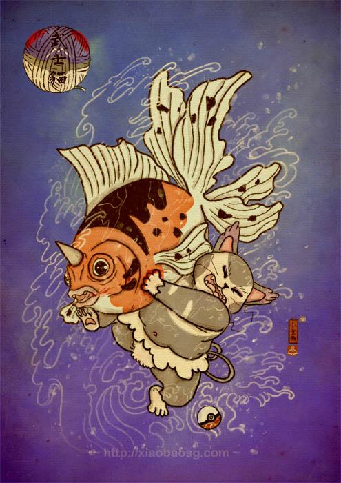 Pawkemon IX by xiaobaosg