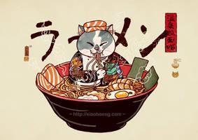 Onsen Ramen Cat