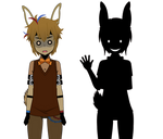 SpringTrap (Golden Bonnie) and Shadow Bonnie