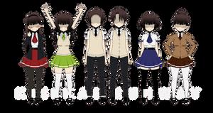 Kisekae Runway - School Outfits