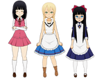 Horror Girls - Small Remakes