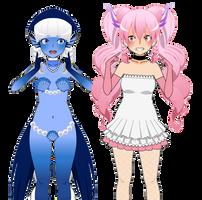 Meet Kimina and Updated Uchida by XxChellie-DawgxX