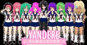 Yandere Girls - 1 (EXPORT LINKS ADDED)