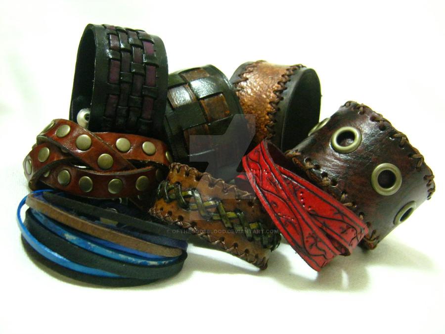 Custom McDonald Bracelets by OfTheGodsBlood